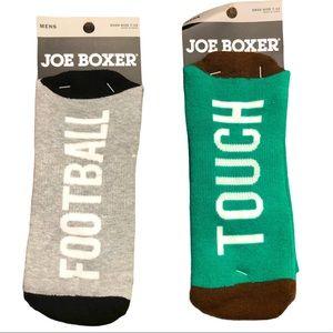 Joe Boxer Football Socks Size 7-12 Mens NWT